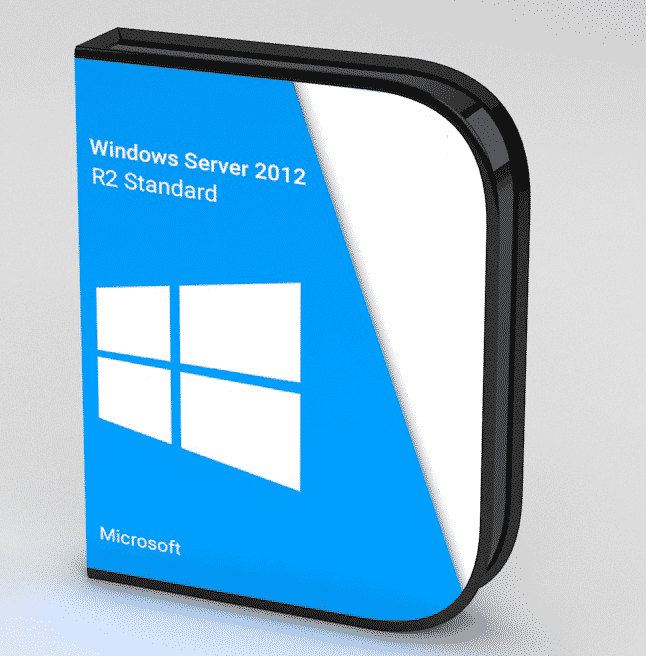 Microsoft Windows Server 2012 R2 Standard 64-bit 2CPUs/2VM