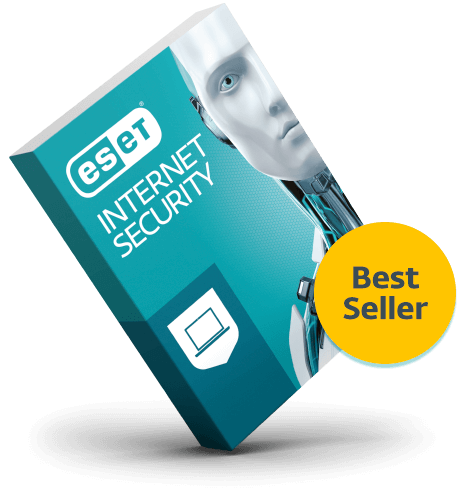 ESET Internet Security 2019 - 2 Years, 3 PCs ( Product Key Card )