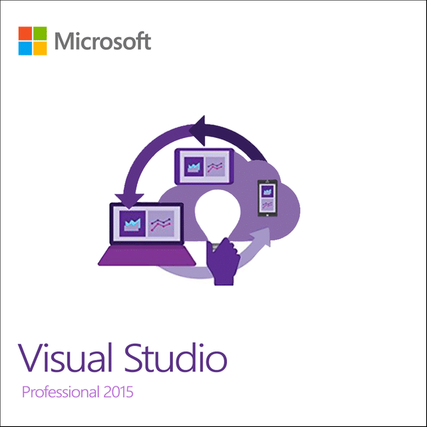 Microsoft Corp  Visual Studio Professional 2015 License ( 36 months VL  License )